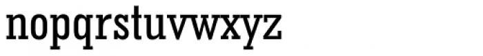 Geometric Slabserif 703 Medium Condensed Font LOWERCASE