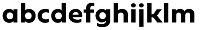 Geometrica Bold Font LOWERCASE