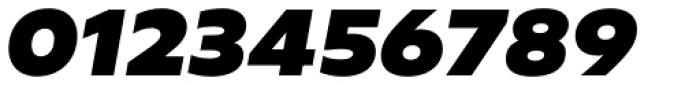 Geometrica Extra Black Italic Font OTHER CHARS