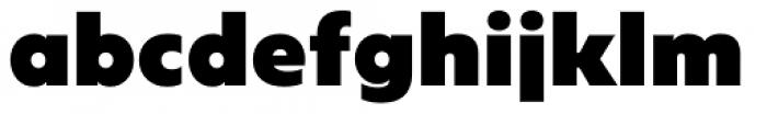 Geometrica Extra Black Font LOWERCASE