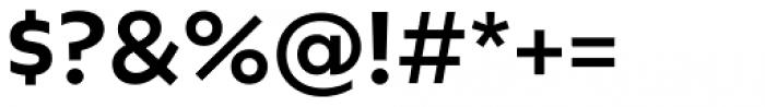 Geometrica Medium Font OTHER CHARS