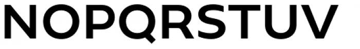Geometrica Medium Font UPPERCASE
