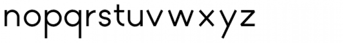 Geometron Pro Angular 500 Font LOWERCASE