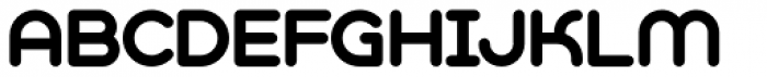 Geometry Soft Pro Bold A Font UPPERCASE
