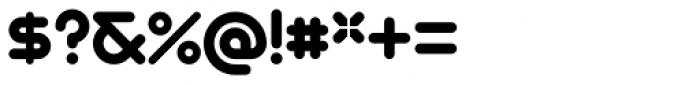Geometry Soft Pro Bold X Font OTHER CHARS