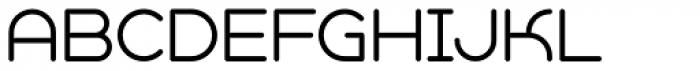 Geometry Soft Pro Light A Font UPPERCASE