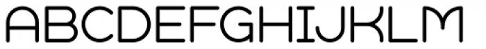 Geometry Soft Pro Light X Font UPPERCASE