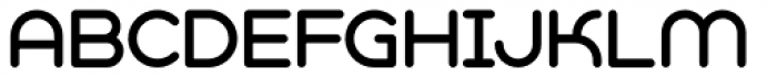 Geometry Soft Pro Regular A Font UPPERCASE