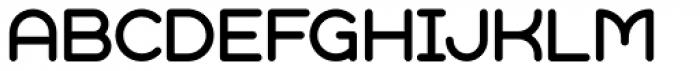 Geometry Soft Pro Regular X Font UPPERCASE