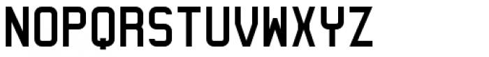 Geometry Font UPPERCASE
