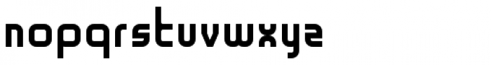 Geometry Font LOWERCASE