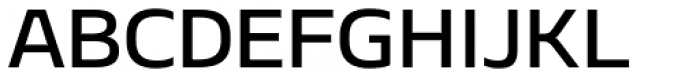 Geon Expanded Medium Font UPPERCASE