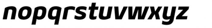 Geon Heavy Italic Font LOWERCASE