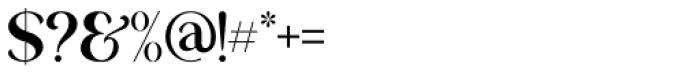 George Regular Font OTHER CHARS