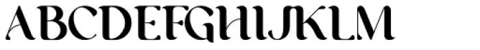 George Regular Font UPPERCASE