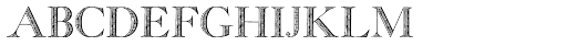 Georgia Capitals Font LOWERCASE