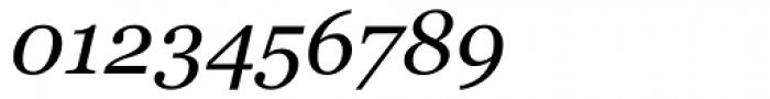 Georgia Italic Font OTHER CHARS