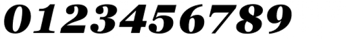 Georgia Pro Black Italic Font OTHER CHARS