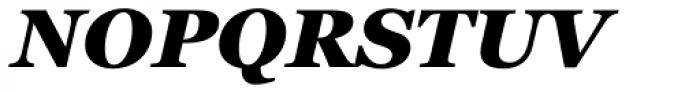 Georgia Pro Black Italic Font UPPERCASE