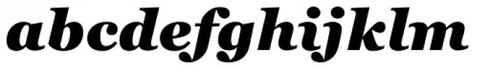 Georgia Pro Black Italic Font LOWERCASE