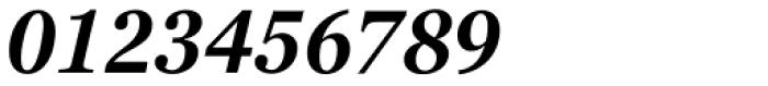 Georgia Pro Condensed SemiBold Italic Font OTHER CHARS
