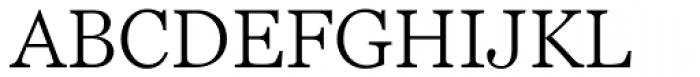 Georgia Pro Light Font UPPERCASE
