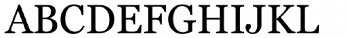 Georgia Pro Font UPPERCASE