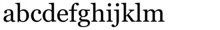 Georgia Font LOWERCASE