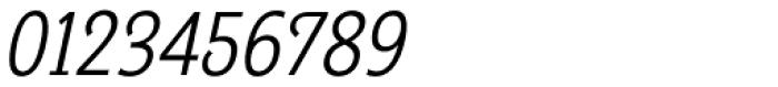 Georgie Light Condensed Oblique Font OTHER CHARS