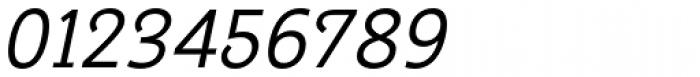 Georgie Light Oblique Font OTHER CHARS