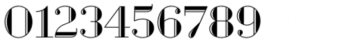 Geotica Three Engraved Font OTHER CHARS