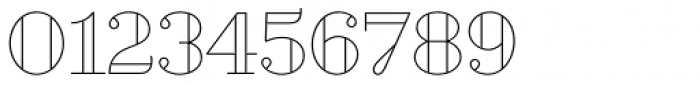Geotica Three Open Font OTHER CHARS