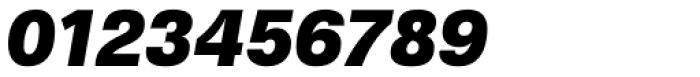Gerlach Sans Black Italic Font OTHER CHARS