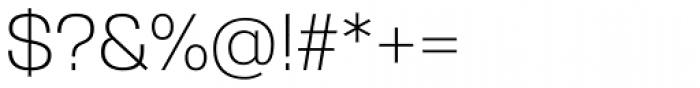 Gerlach Sans Light Font OTHER CHARS