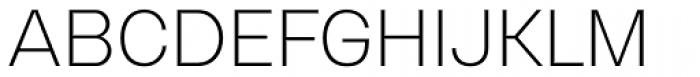Gerlach Sans Light Font UPPERCASE