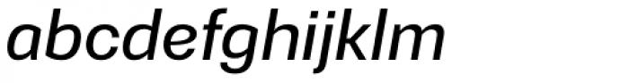 Gerlach Sans Medium Italic Font LOWERCASE
