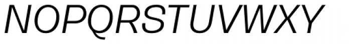Gerlach Sans Regular Italic Font UPPERCASE