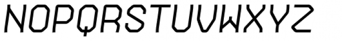 Gerusa Bold Italic Font UPPERCASE