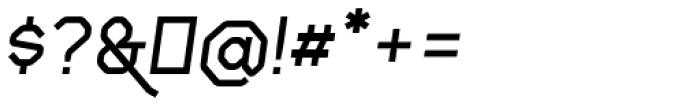 Gerusa ExtraBold Italic Font OTHER CHARS
