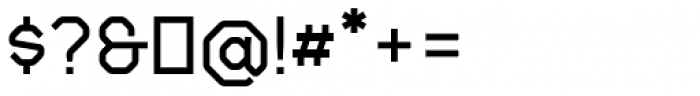 Gerusa ExtraBold Font OTHER CHARS
