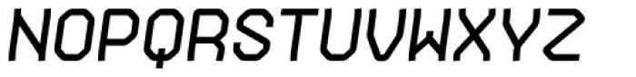 Gerusa Heavy Italic Font UPPERCASE