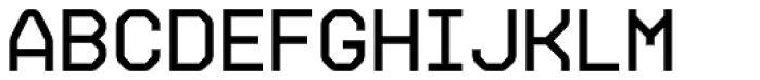 Gerusa Heavy Font UPPERCASE