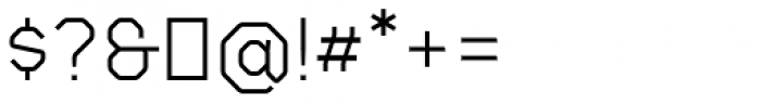Gerusa Medium Font OTHER CHARS
