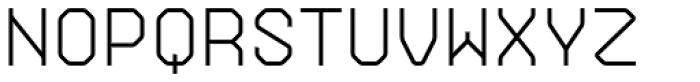 Gerusa Medium Font UPPERCASE