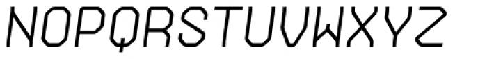 Gerusa SemiBold Italic Font UPPERCASE