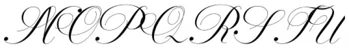 Geshane Regular Font UPPERCASE