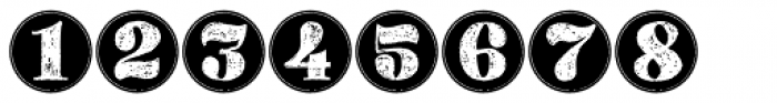Gessetto Figures Font UPPERCASE