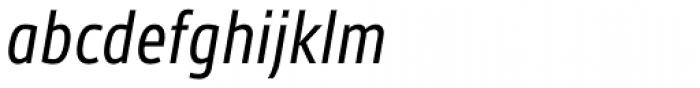 Gesta Condensed Italic Font LOWERCASE