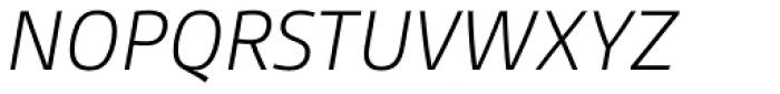 Gesta Light Italic Font UPPERCASE