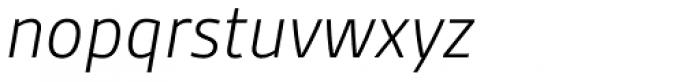 Gesta Light Italic Font LOWERCASE